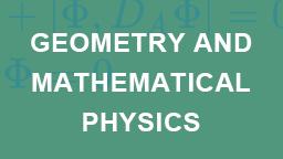 Department of Mathematics, School of Mathematical Sciences